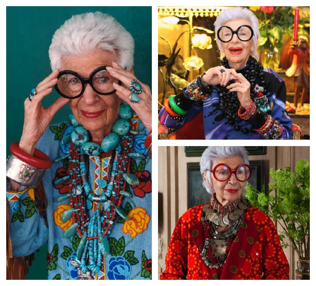 Iris Apfel icono de moda